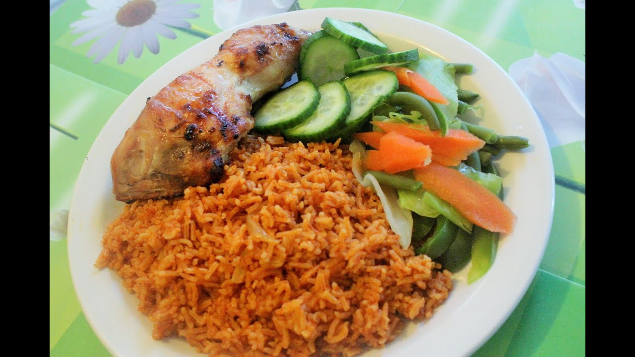 Healthy jollof rice cooking with hedap youtube ccuart Gallery