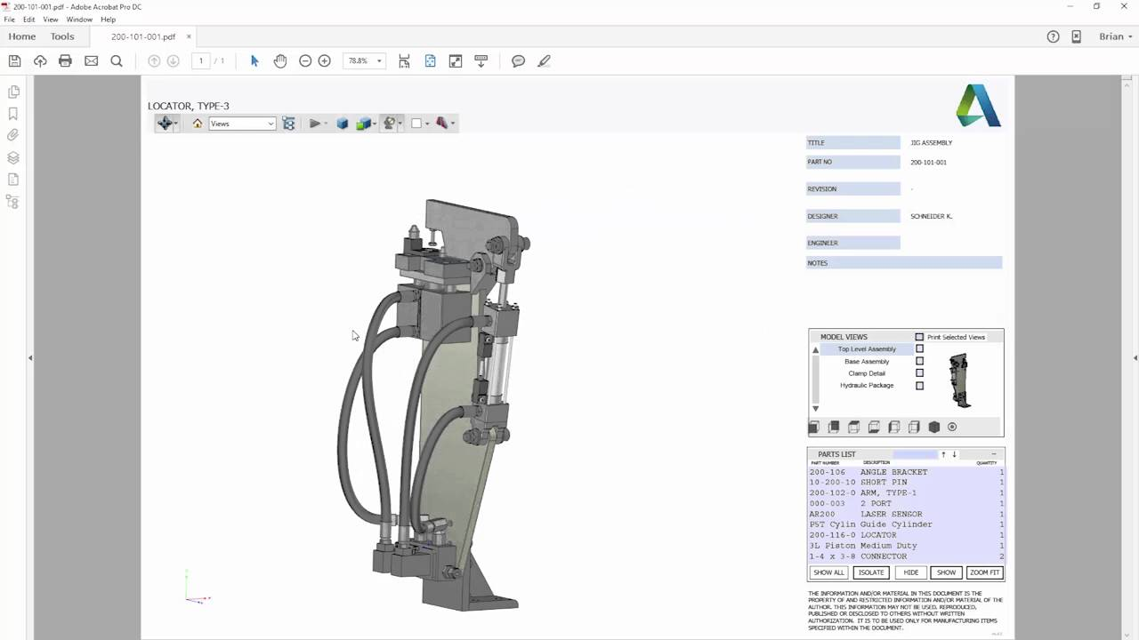 Automatic PDF Export add-in for Autodesk Inventor