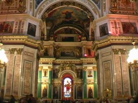 TJ Travel Tour - Part Eight - St. Isaac's Cathedral Interior - St. Petersburg, Russia