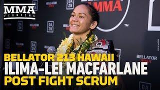 Bellator 213: Ilima-Lei Macfarlane Talks Emotion of Winning in Hawaii, BJ Penn Homage, More