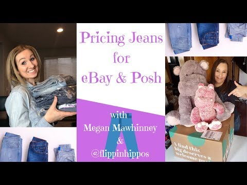LIVE SHOW: Pricing Jeans For EBay & Poshmark With Megan Mawhinney
