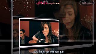 Catch my breath Kelly Clarkson - Chrissy ft Alex Goot cover ( Karaoke - Vietsub Kara - HD )