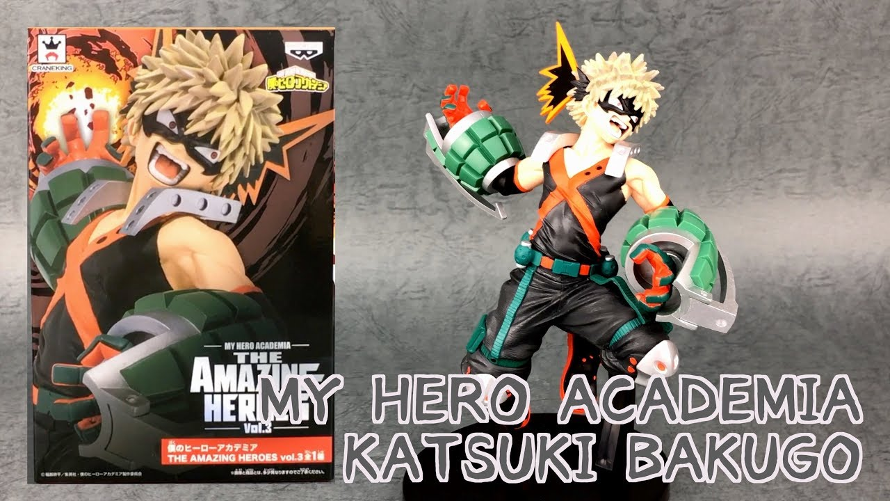 My Hero Academia THE AMAZING HEROES vol.3 Katsuki Bakugou Figure Anime No box