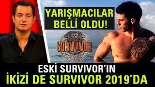 Survivor 2019 Yarışmacıları Belli Oldu! MasterChef Hakan ve Herkesin Tanıdığı İsimler Dikkat Çekti!