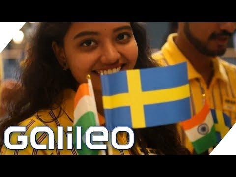 1. IKEA-Filiale in Indien: 40.000 Besucher und Köttbullar aus Hähnchen | Galileo | ProSieben