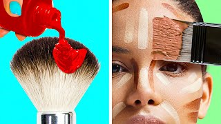 30 TRICKS YOU DIDN'T KNOW ABOUT MAKEUP || 5-Minute Recipes To Look Stunning