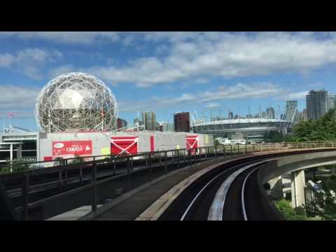 Así se viaja en el metro Vancouver, Canadá