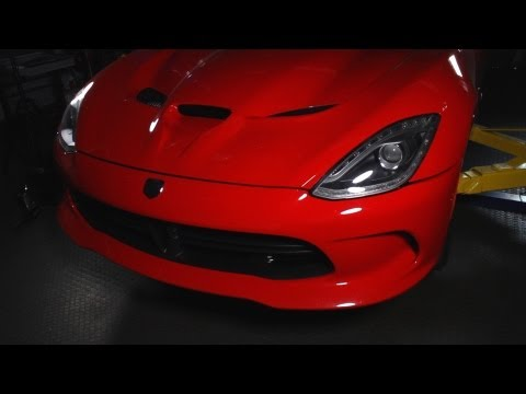 2013 SRT Viper GTS  CD Underbelly