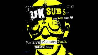 U.K. Subs -- Party in Paris