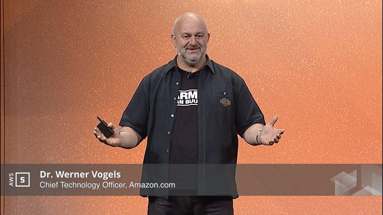 AWS Summit New York 2016: Keynote with Werner Vogels - YouTube