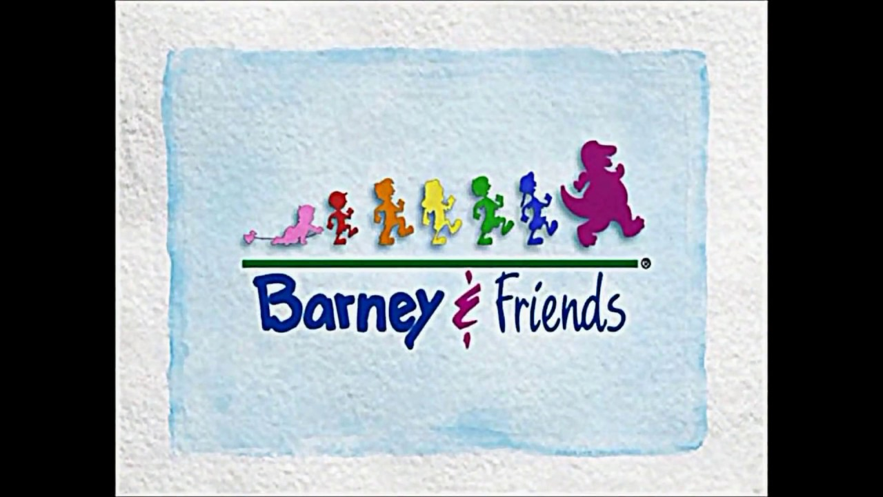 Barney And Friends Theme Song Slow Motion Youtube