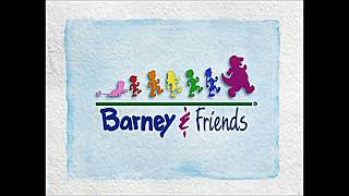 Barney And Friends Theme Song Slow Motion