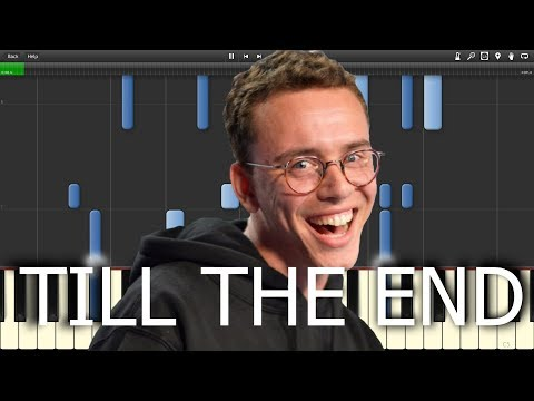 Logic - Till The End - Midi/Piano Tutorial