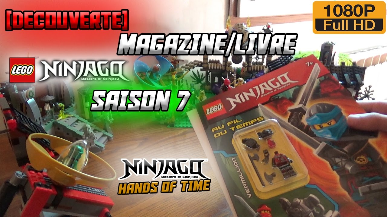 Au Fil Du Temps Lego Ninjago Saison 7 Livre Magazine Hd