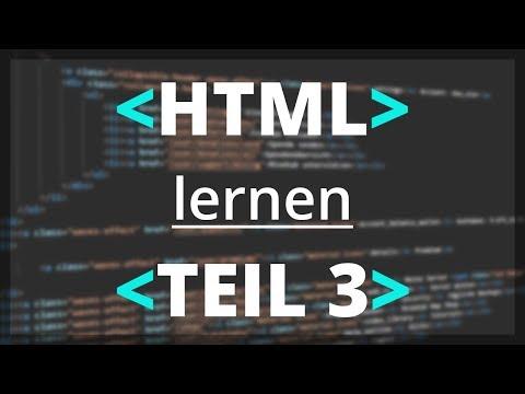 HTML Lernen -  Listen Erstellen | Teil 3 [deutsch]