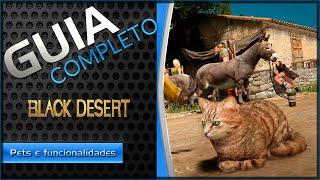Black Desert - Sistema de Pets e funcionalidades