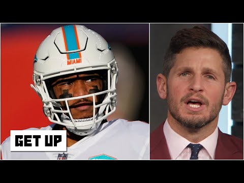 'I hate it!' - Dan Orlovsky gets fired up about Tua Tagovailoa getting benched | Get Up
