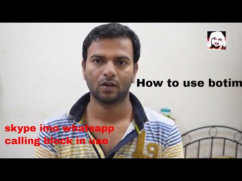 how to use botim application free calling in India,Pakistan,Bangladesh after skype block | fahim