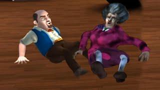 CAPÍTULO 3: EL REGALO NAVIDEÑO DE LA PROFESORA MALVADA !! FINAL - Scary Teacher (Horror Game)