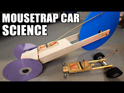 1st place Mousetrap Car Ideas- using SCIENCE