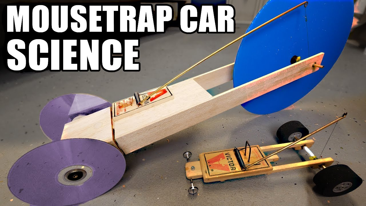 1st Place Mousetrap Car Ideas Using Science Youtube