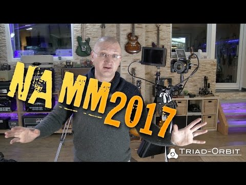 "Preparing for NAMM 2017 with ""Triad Orbit"""