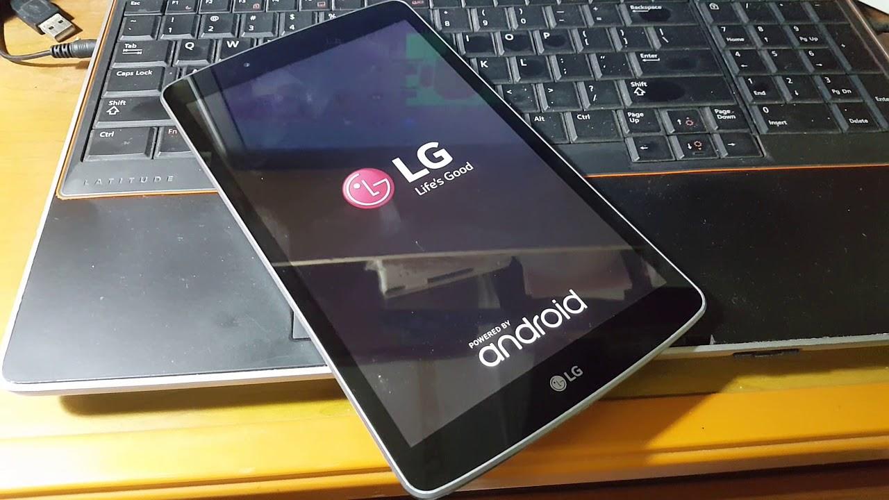 Como hacer Hard Reset a una Tablet LG Gpad F (reinicio de fabrica)