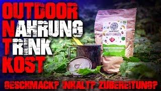 OUTDOOR NAHRUNG TRINKKOST im Test - Review - Essen Survival Bushcraft Trekking Deutsch Deutschland