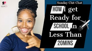 Download How I get Ready for school in Less Than 20mins | Sunday Chit Chat | PrincessAnuTv