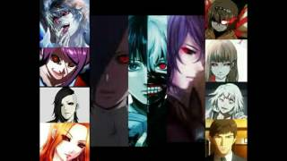Tokyo ghoul opening all characters