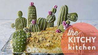 DIY Cactus Cookie Garden // The Kitchy Kitchen