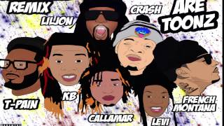 WE ARE TOONZ - DROP THAT #NAENAE REMIX FEAT LIL JON, TPAIN, & FRENCH MONTANA