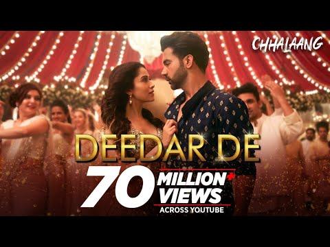 Chhalaang:Deedar De | Rajkummar R, Nushrratt B | Vishal & Shekhar, Panchhi Jalonvi, Asees K, Dev N