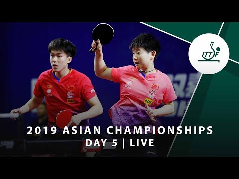2019 ITTF-ATTU Asian Championships | DAY 5 - LIVE