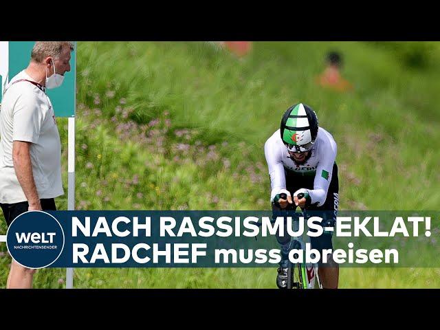 OLYMPIA 2020: Nach Rassismus-Eklat! Rad-Sportdirektor Patrick Moster muss abreisen I EILMELDUNG