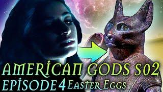 "American Gods Season 2 Episode 4 Breakdown + Easter Eggs ""The Greatest Story Ever Told"""