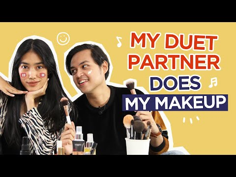 Alika Islamadina Dimakeupin  Rama Davis! | My Duet Partner Does My Makeup thumbnail