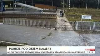 Dzięki kamerze na dworcu uniknął śmierci (TVP Info, 11.09.2013)