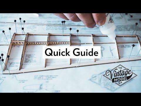 How to Make a Balsa Model Airplane Wing | Balsa Basics Series