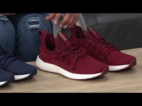 36c803ca PUMA Knit Lace-Up Sneakers - NRGY Neko VT on QVC - YouTube