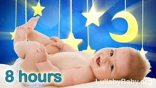 ☆ 8 HOURS ☆ Lullabies for babies to go to sleep ♫ ☆ MUSIC BOX ☆ Lullaby Baby ☆ Baby Music Songs