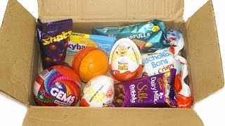 MINI CANDY BOX  Kinder joy, chocolates and other candies #3