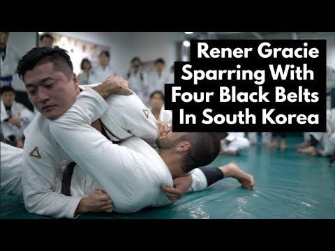 Rener Gracie vs. 4 Korean Black Belts
