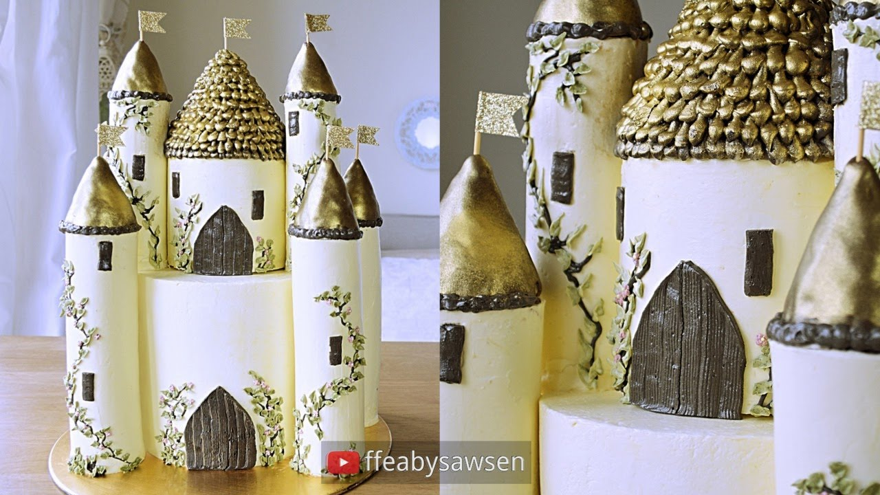 How To Bake A Castle Cake
