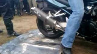 XI Zlot Motocyklowy Debrzno 2010 - Palenie Gumy