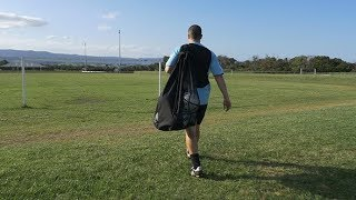Football (Soccer) Player Walking to the Fields | Stock Footage - Videohive