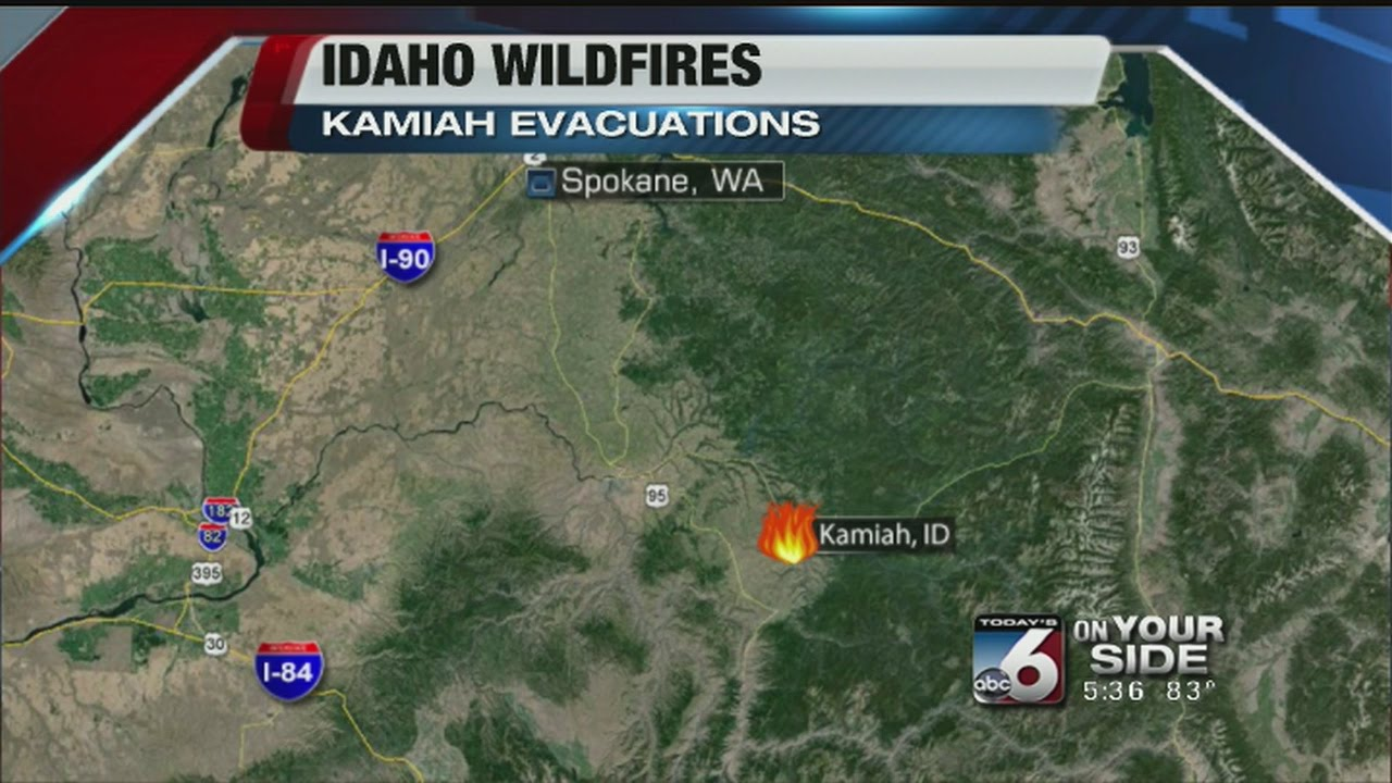 Kamiah Fire Map.Lawyer Complex Fire Destroys Dozens Of N Idaho Homes Youtube