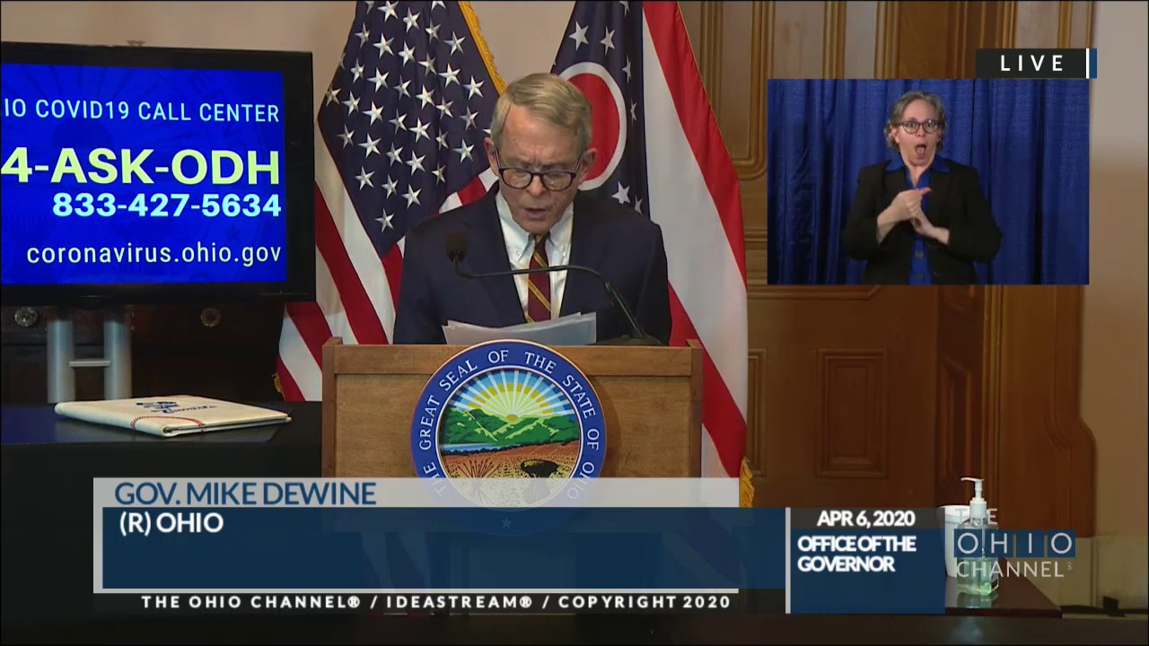 Coronavirus In Ohio Gov Dewine To Provide An Update On Covid 19 Response At 2 P M