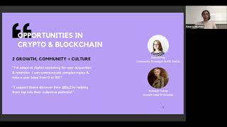Opportunities in Crypto & Blockchain  - With Rebecca Mqamelo