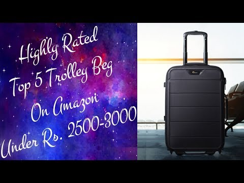 Top 5 Trolley Bag Under 3000 In India